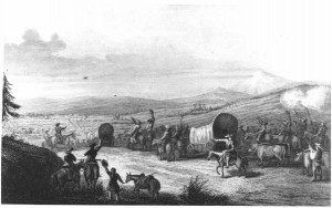 Arrival_of_the_caravan_at_Santa_Fe,_c._1844